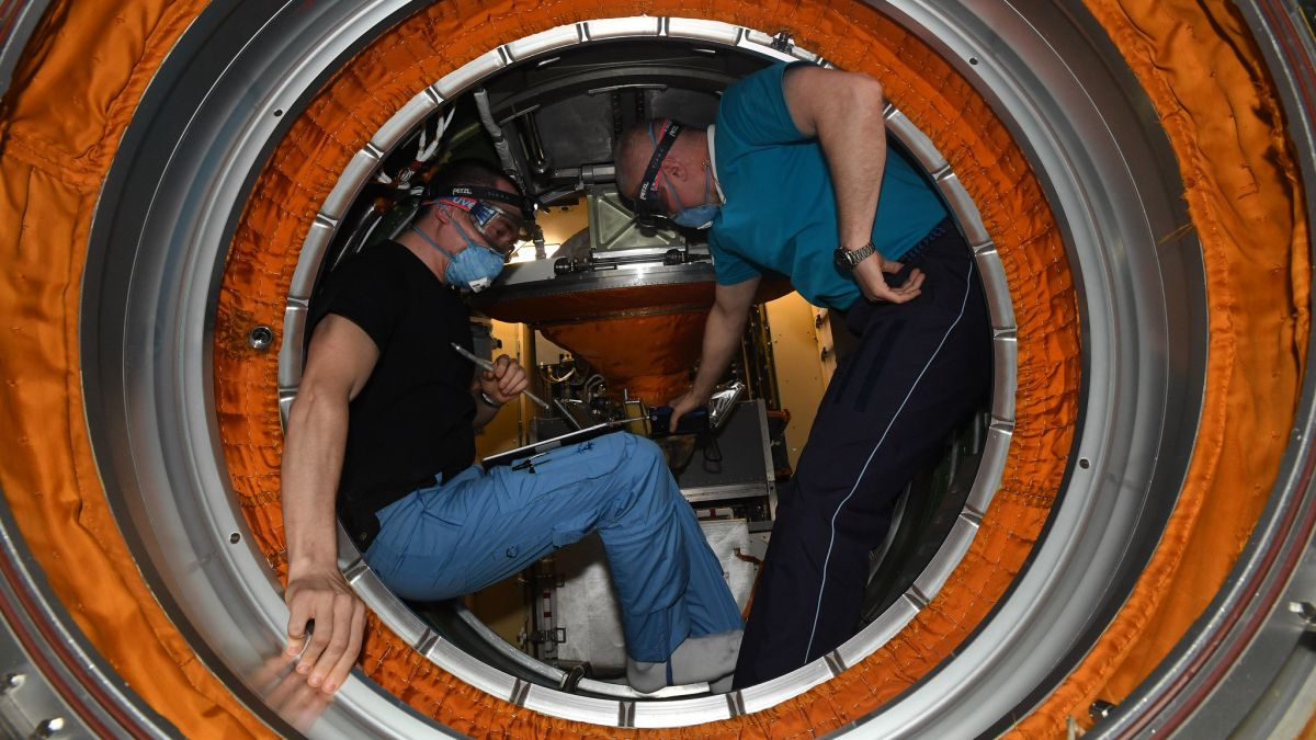 Watch cosmonauts explore Russia's new Nauka space station module in this video tour