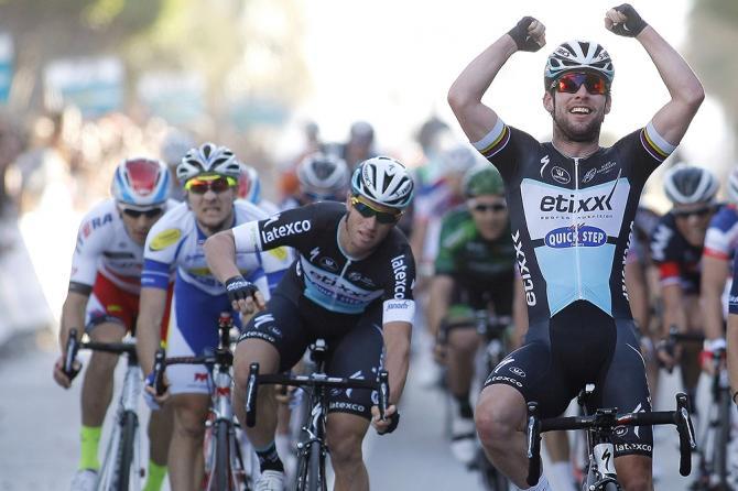 Mark Cavendish (Etixx-Quickstep) wins Clasica Almeria