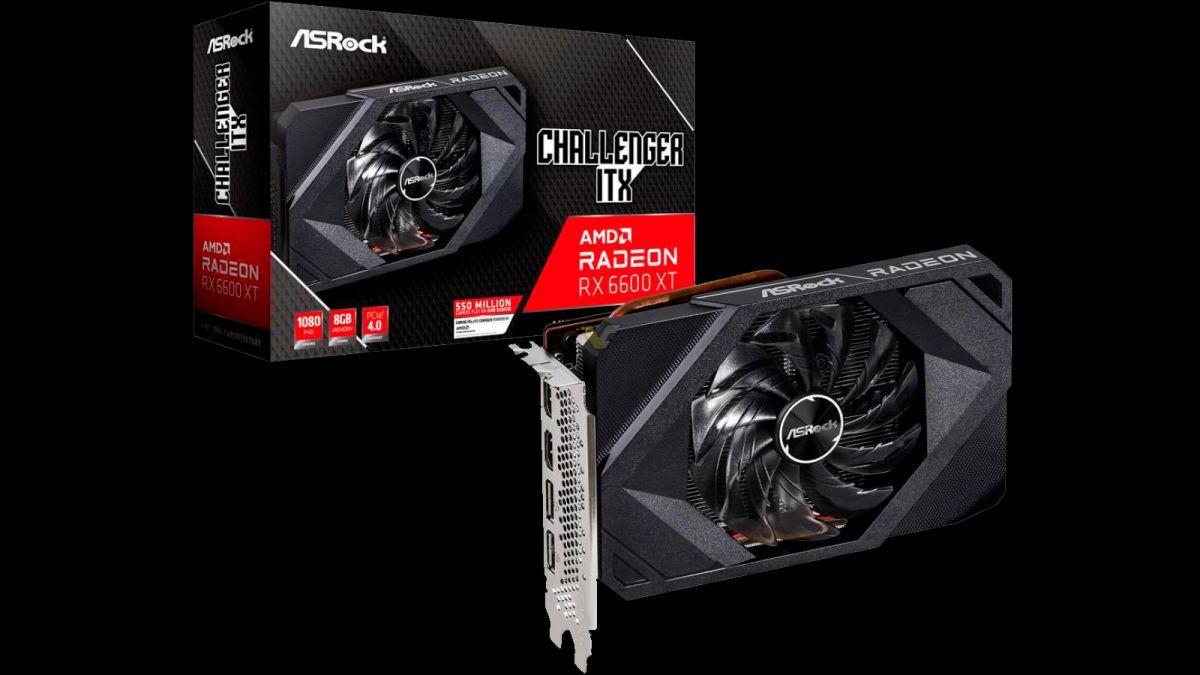 ASRock's Radeon RX 6600 XT Challenger ITX Brings Epic 1080p Gaming To SFF PCs