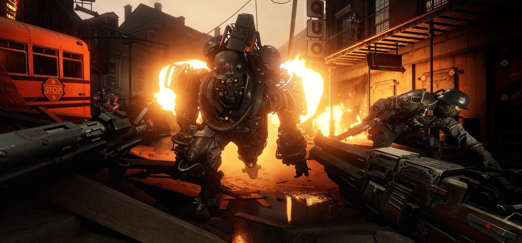 Wolfenstein 2 system requirements and PC-specific features revealed