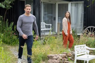 Sienna Blake and Brody Hudson in Hollyoaks