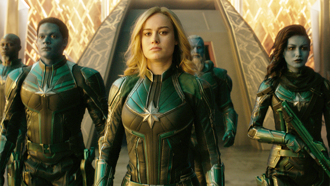 """she doesn't have anything to prove"""" - captain marvel's cast and crew"""