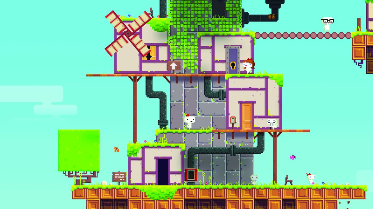 Five years on, Fez is a stunning puzzle platformer with one of the ...