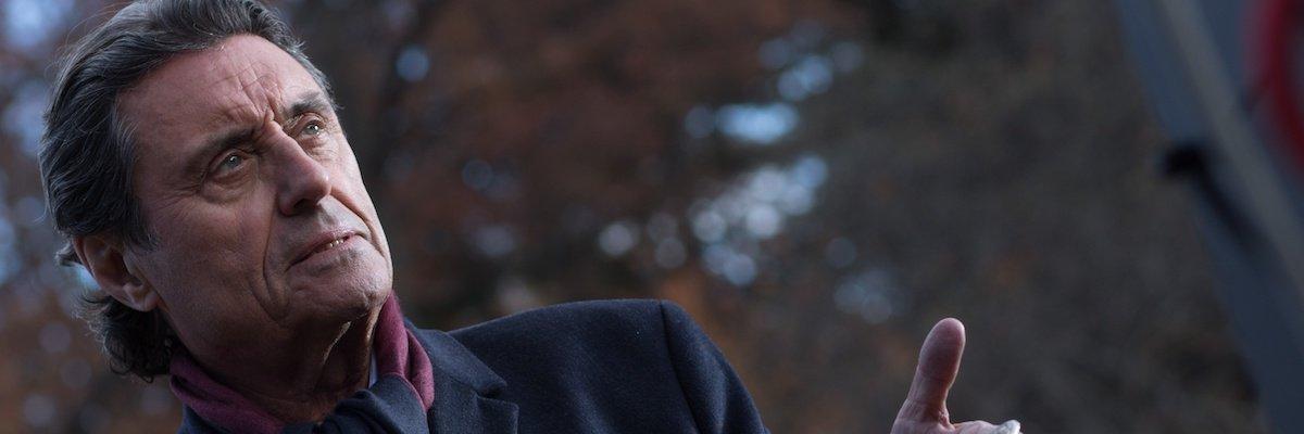 Ian McShane as Winston in John Wick 2