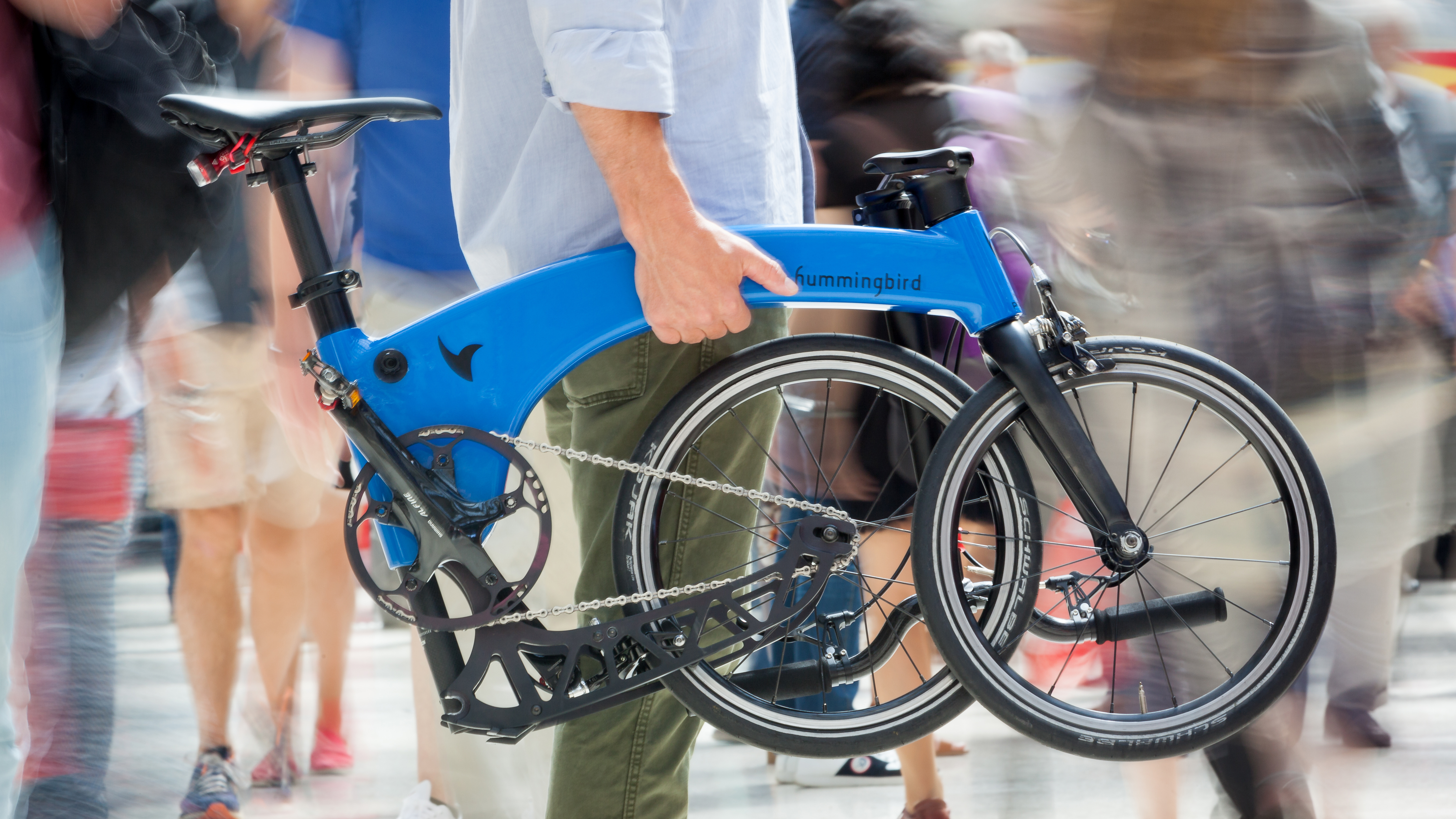 This Folding Bike Is About Half The Weight Of A Brompton T3