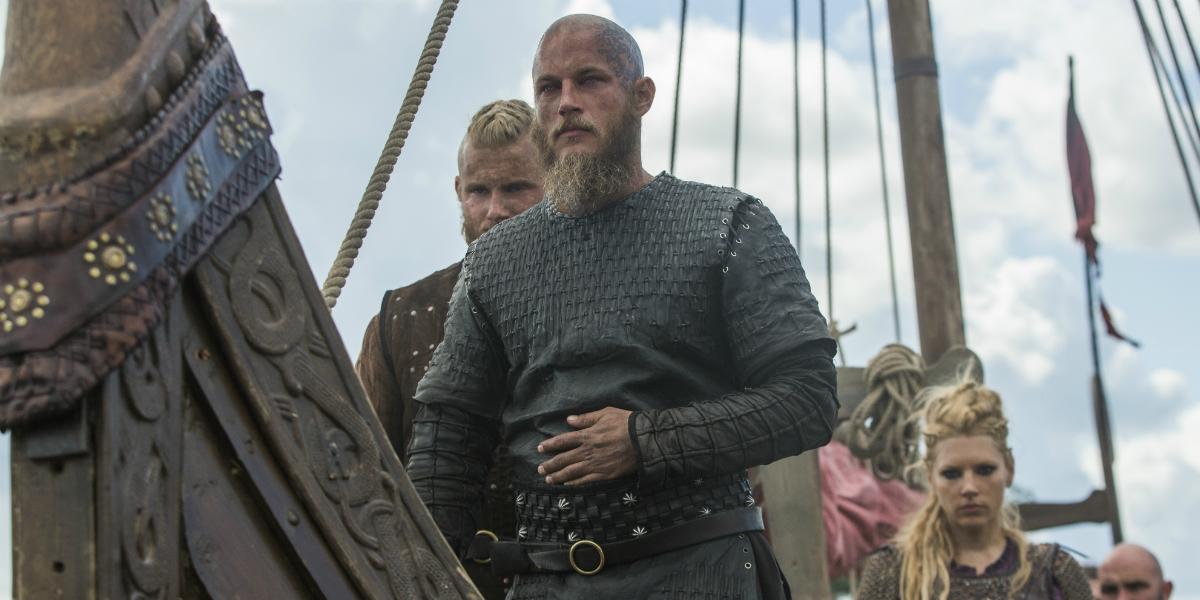 Vikings Bjorn Ironside Alexander Ludwig Ragnar Lothbrok Travis Fimmel Lagertha Katheryn Winnick Hist