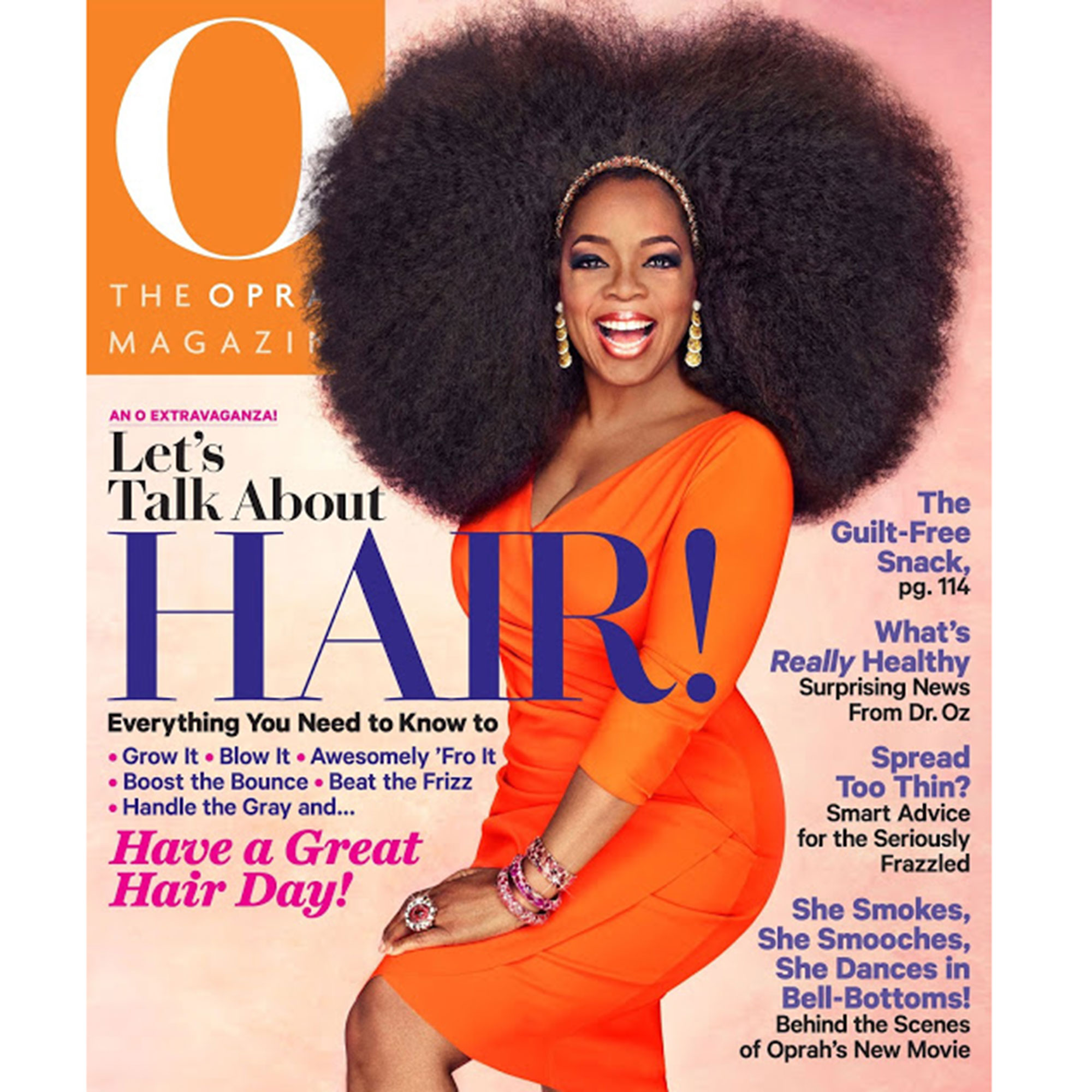 Photo of O The Oprah Magazine Cover