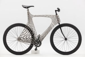 The world's first 3D-printed steel bike frame is like nothing you've seen before