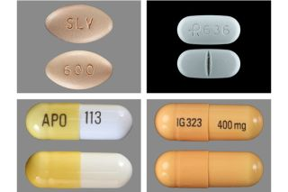 Gabapentin pills and tablets, medicine