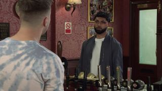 Zeedan Nazir gives Ryan a reason to be hopeful.
