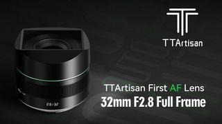 TTArtisan 32mm f/2.8