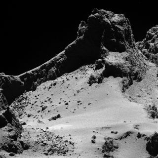Comet 67P from 5 Miles (8 Km)
