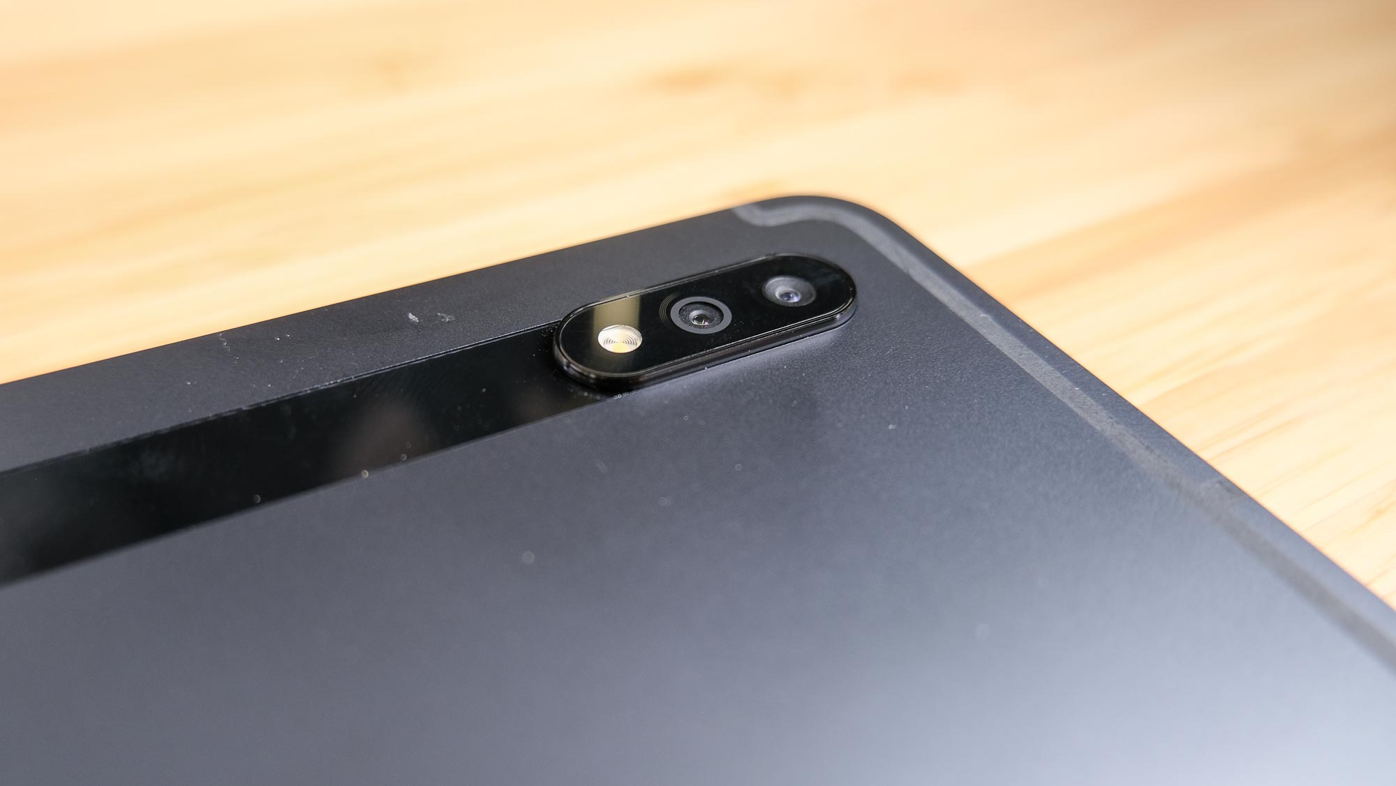 Samsung Galaxy Tab S7 and S7 Plus review camera bump