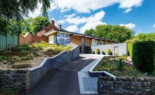 Single-storey self build on garden plot