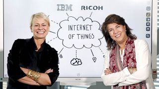 IBM and Ricoh Launch First Watson-Powered Interactive Whiteboards