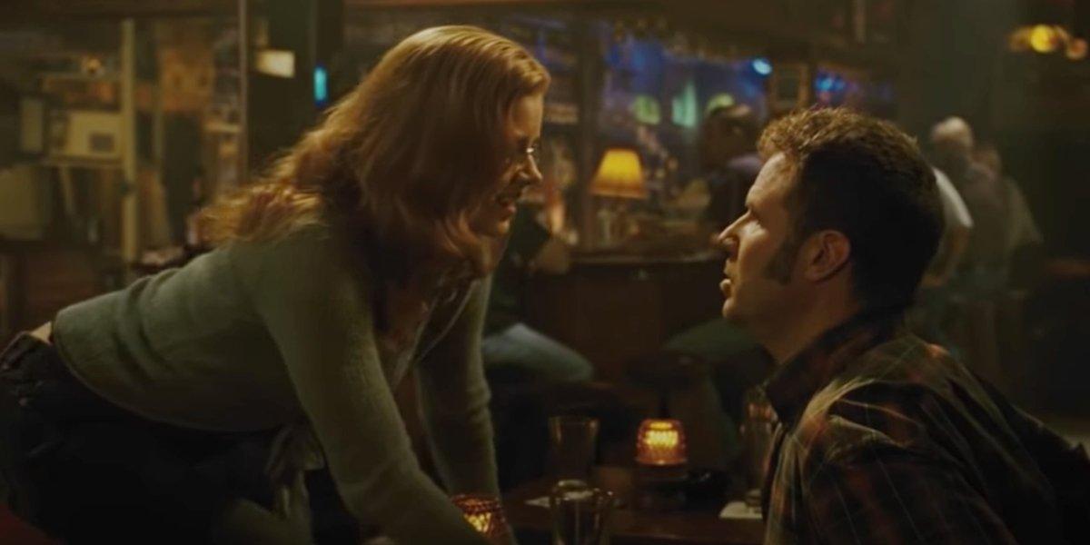 Amy Adams and Will Ferrell in Talladega Nights: The Ballad Of Ricky Bobby
