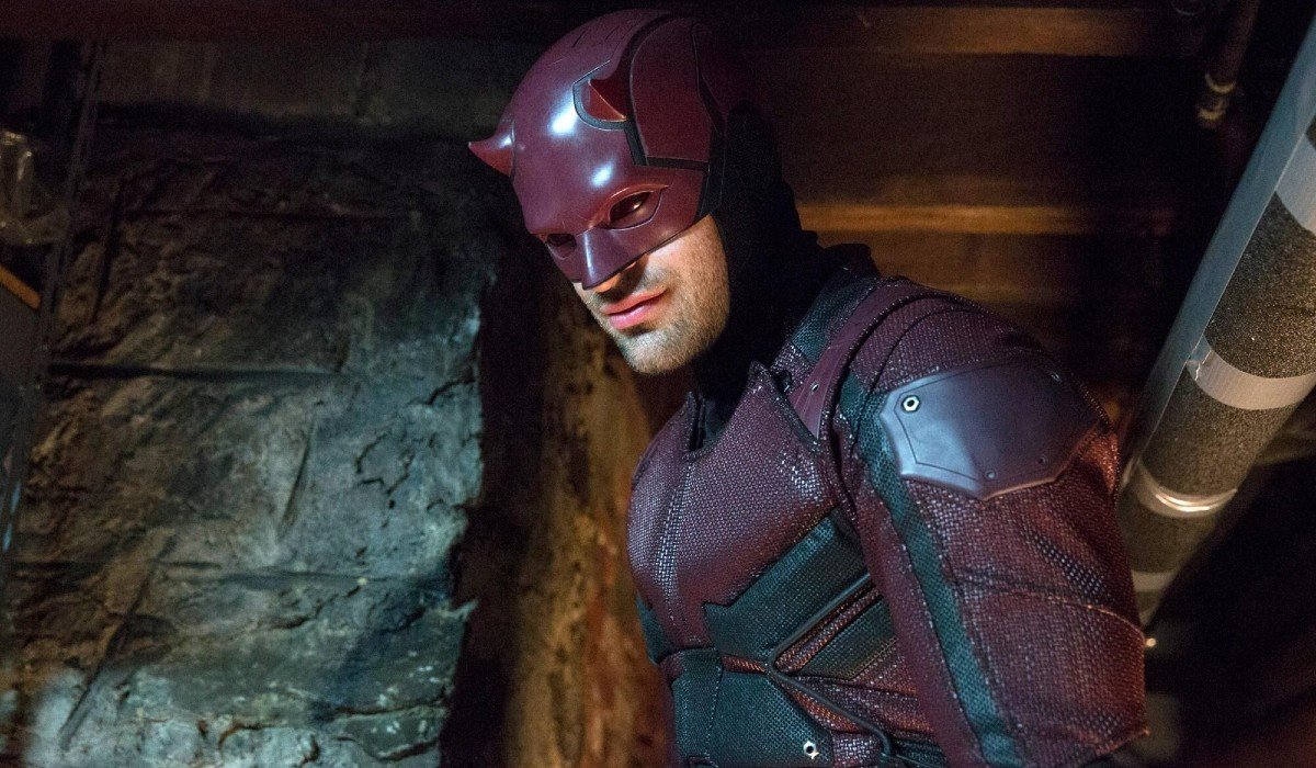 Matt Murdock smiling as Daredevil