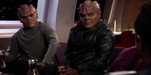 Bortus and Klyden The Orville Fox