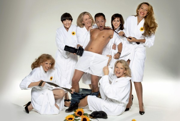 Calendar Girls stage production