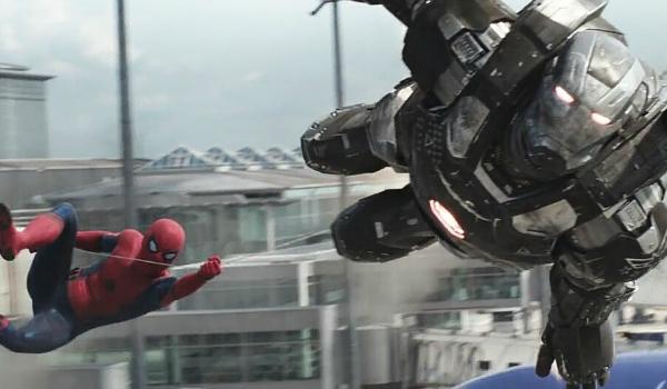 Spider-Man and War Machine in Civil War