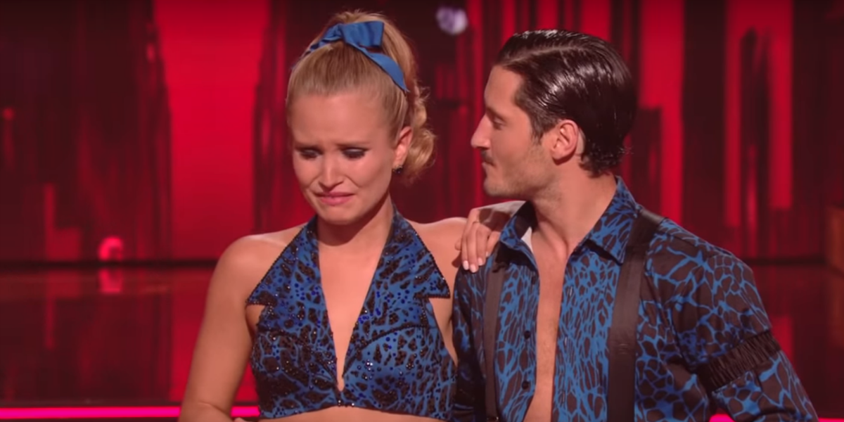 Dancing with the Stars Sailor Brinkley-Cook Valentin Chmerkovskiy ABC