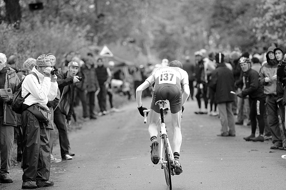 Thomas Clark, ninth, National Hill-Climb Championships 2010