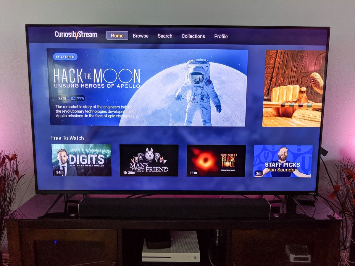 Can I watch CuriosityStream on my TV? | WhatToWatch