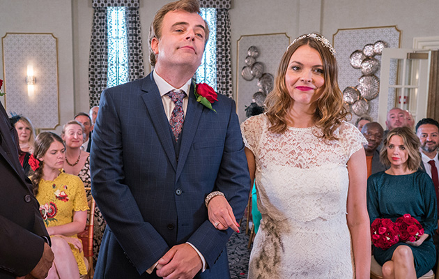 Coronation Street spoilers: Will Tracy Barlow go through with the wedding?