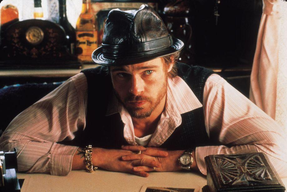 Brad Pitt stars as an Irish gypsy