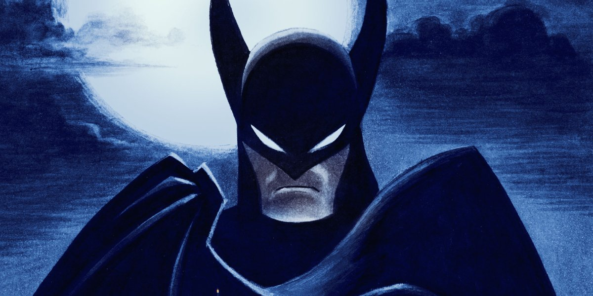 A promotional photo for Batman: Caped Crusader