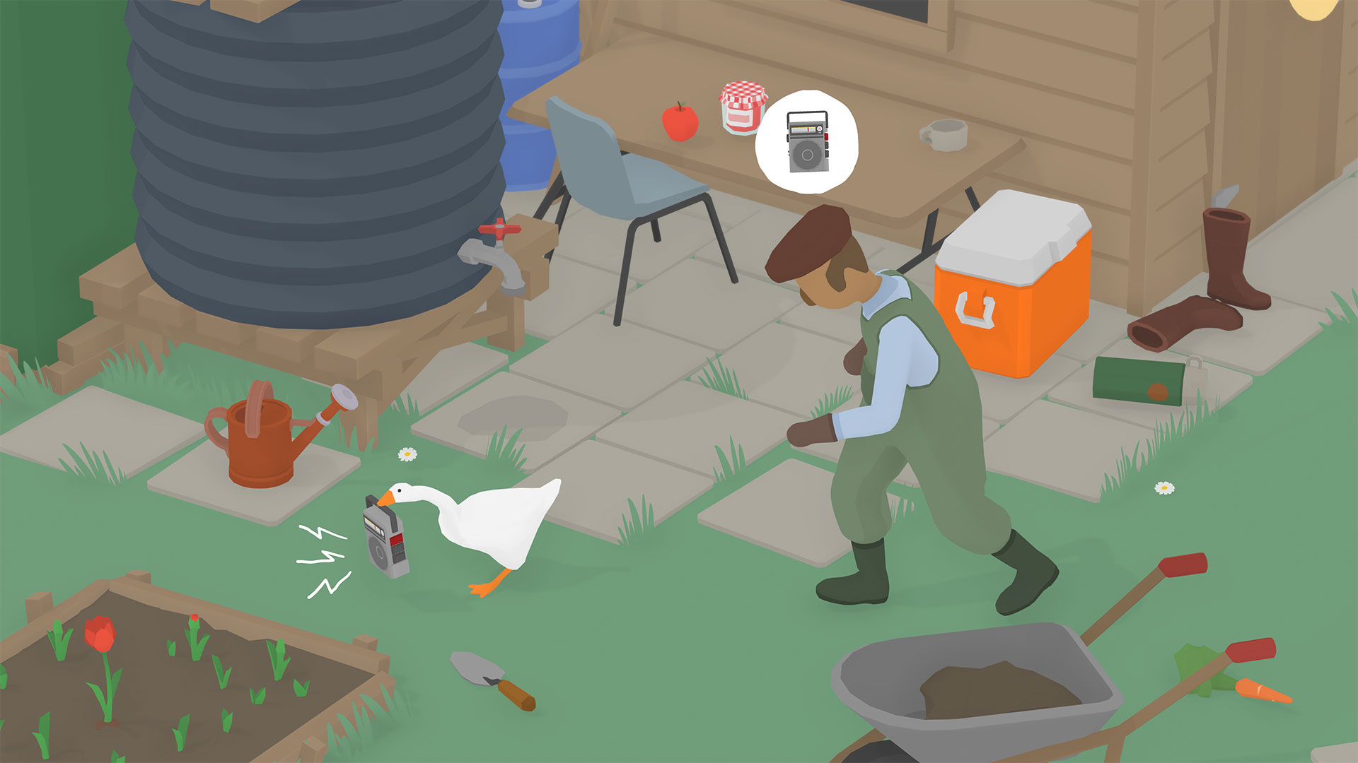 foto de Untitled Goose Game walkthrough: Complete puzzle guide with ...