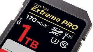 Sandisk 1TB SDXC card