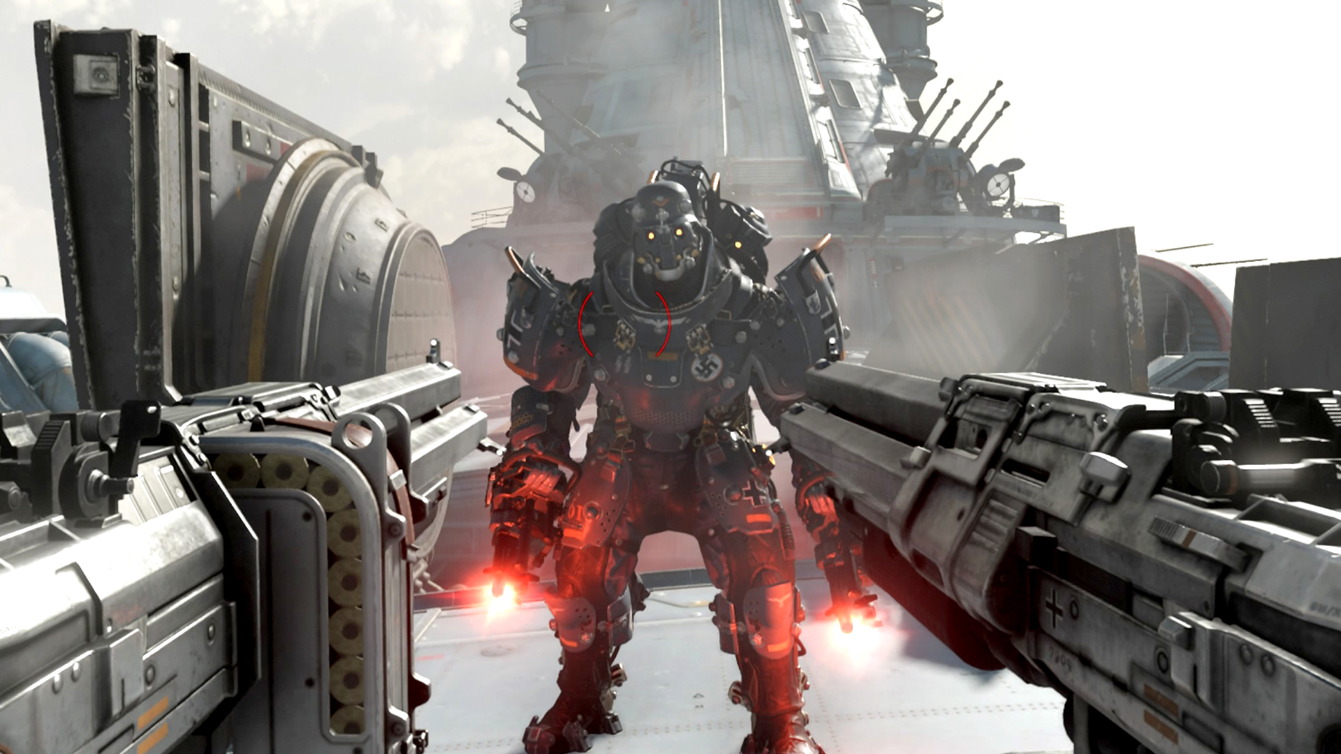 weapon upgrades wolfenstein 2