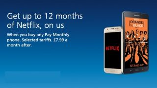 free netflix with o2 phone deals