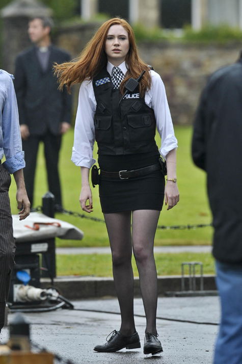 Karen reveals she pushed for Amy Pond's sexy look
