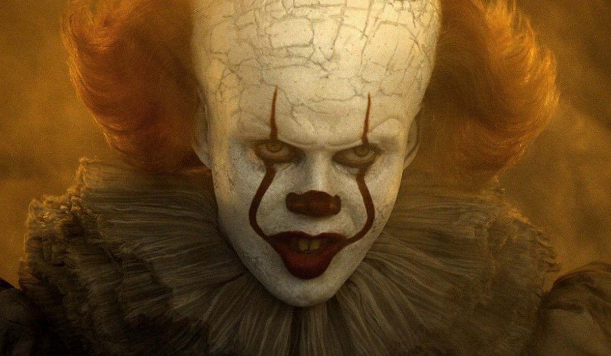 IT Chapter Two Pennywise glaring at someone