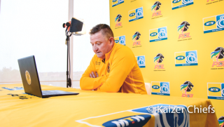 Kaizer Chiefs coach Gavin Hunt