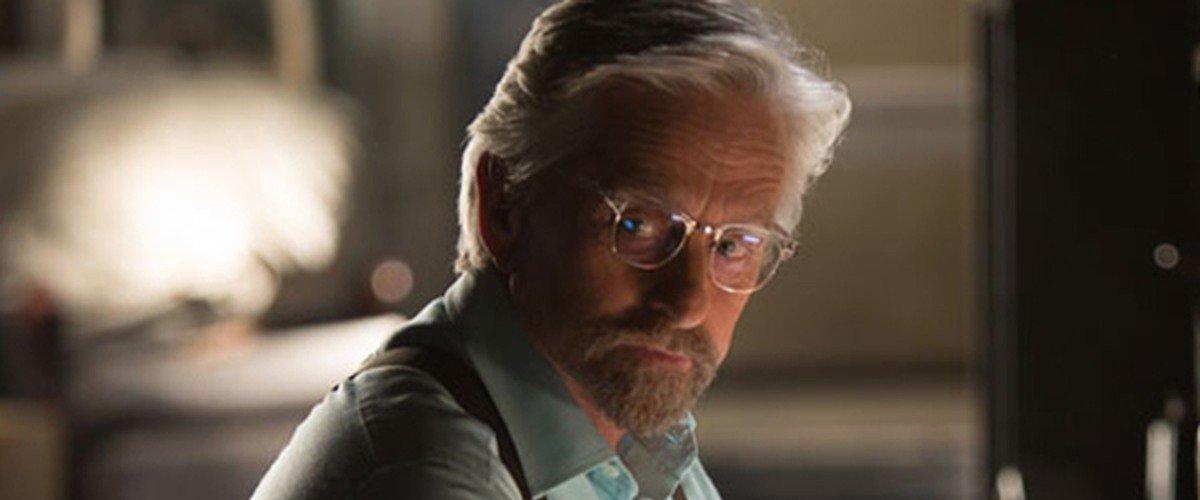 Michael Douglas as Dr. Hank Pym