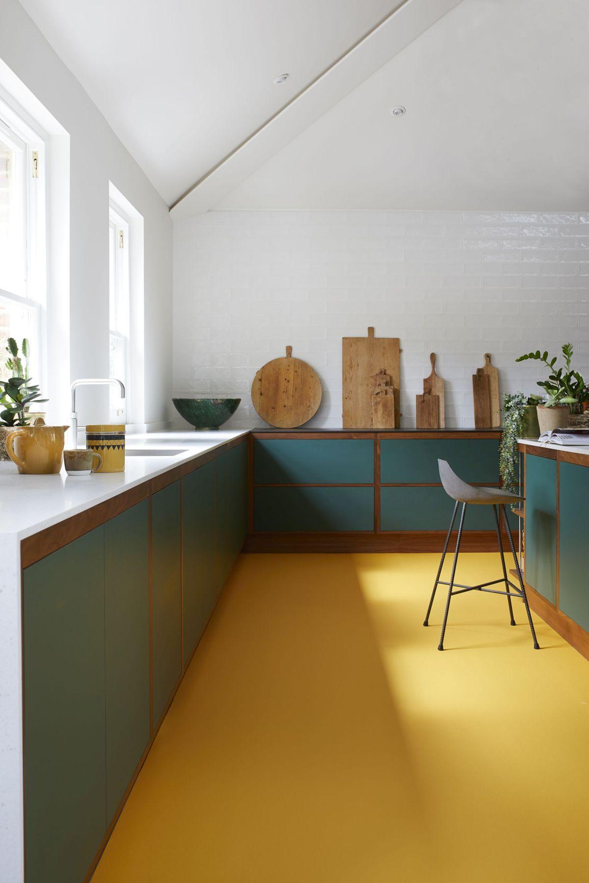 Choosing rubber flooring  Real Homes