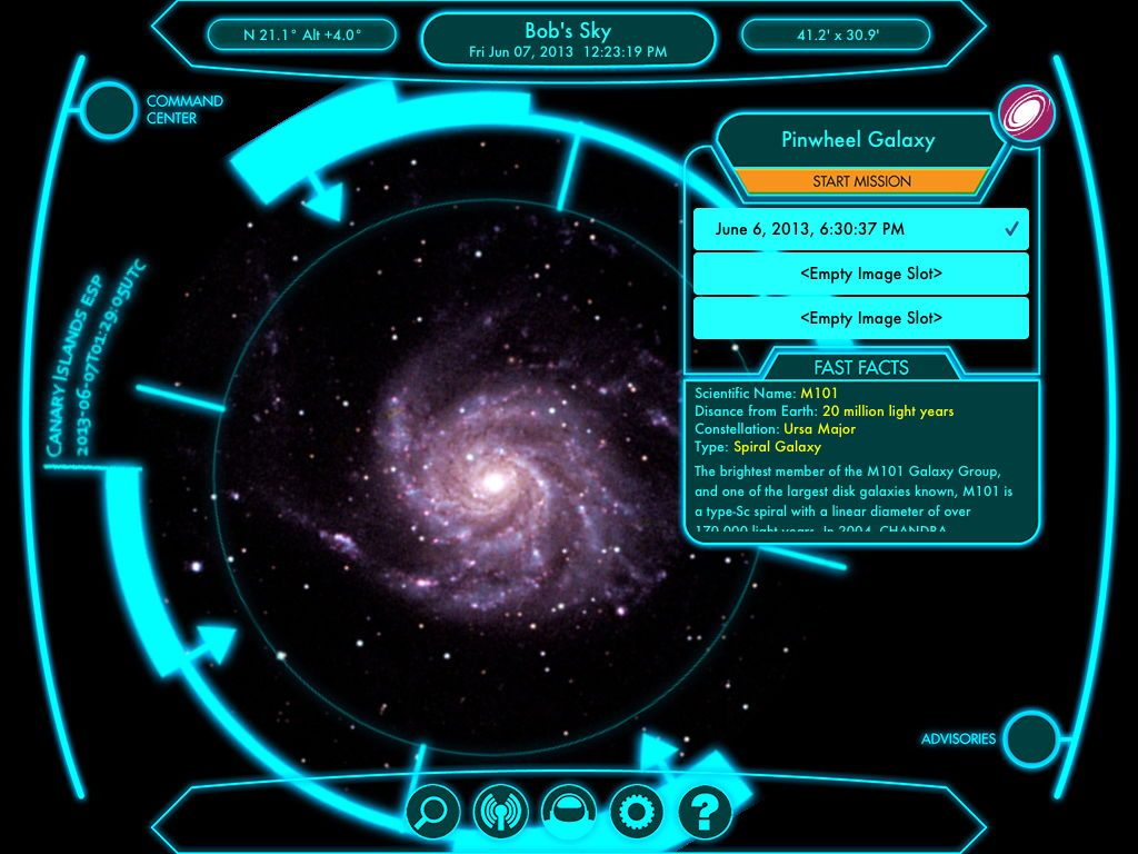 Snap Your Own Telescope Photos on New iPad App   Space