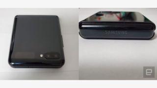 Samsung Galaxy Z Flip leak