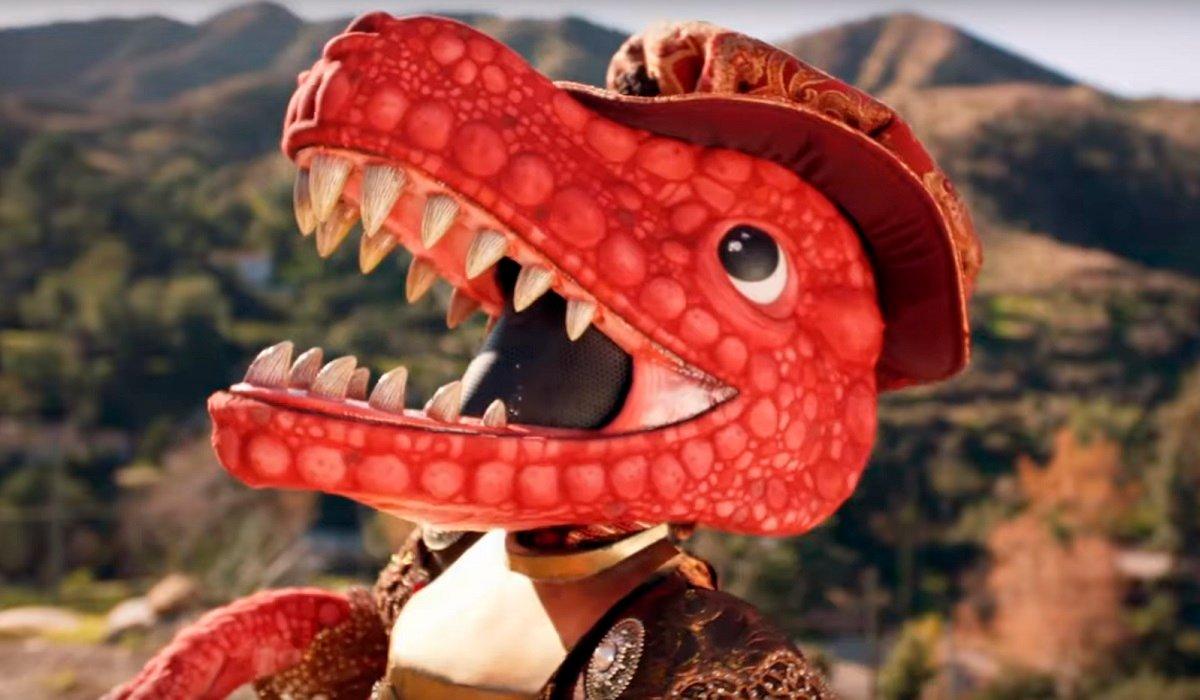 The Dinosaur The Masked Singer Fox
