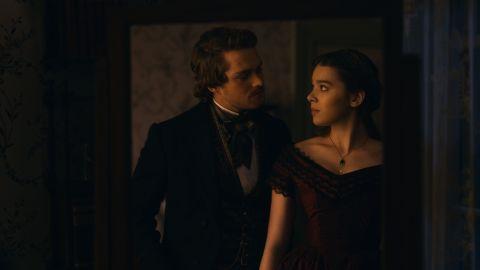 Hailee Steinfeld and Finn Jones in Season 2 of 'Dickinson'