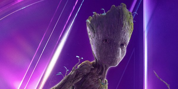 Groot's Infinity War poster