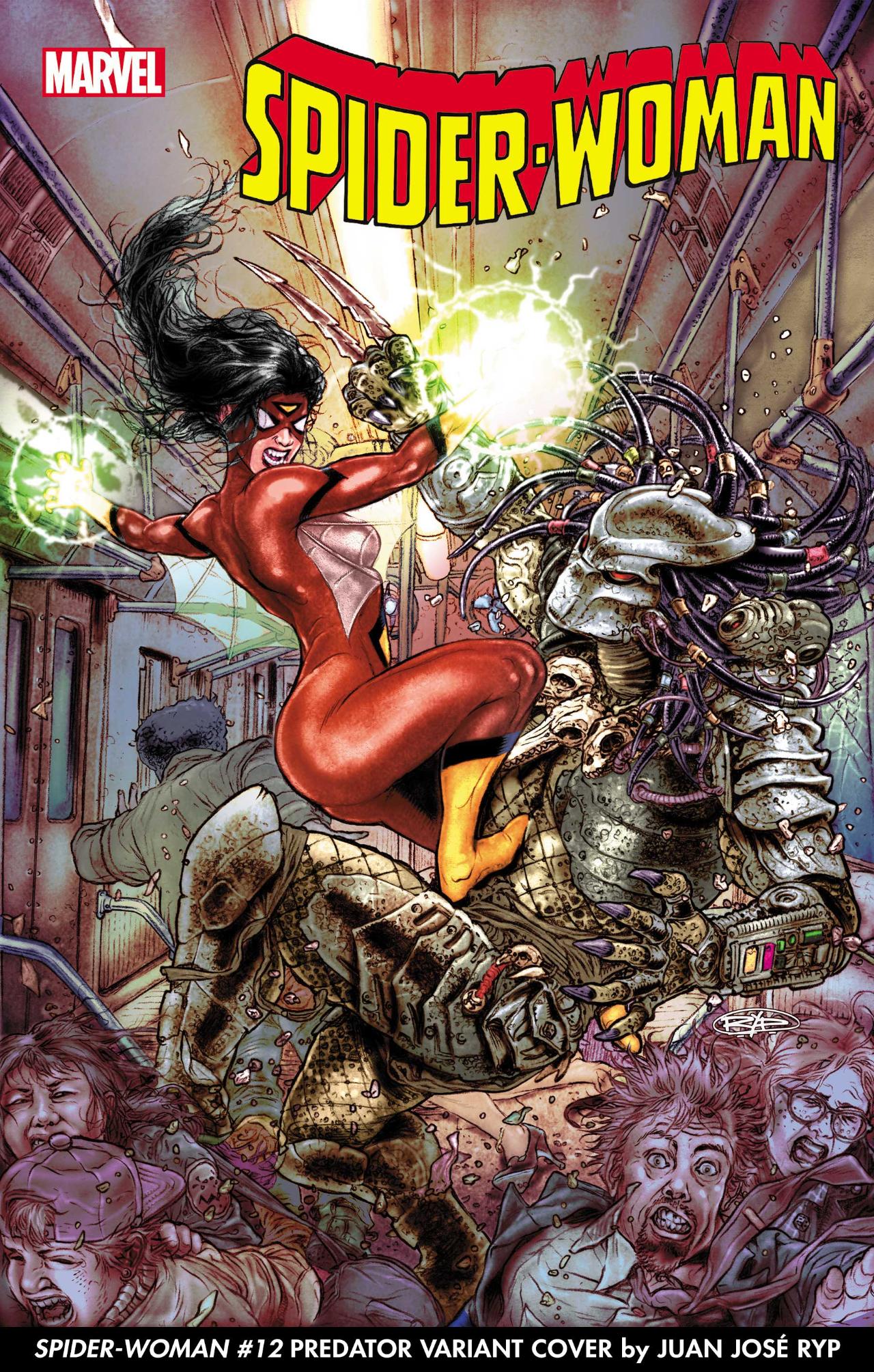 Portada de Predator vs.Marvel