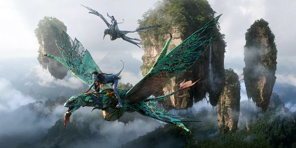 na'vi flying on pandora in avatar