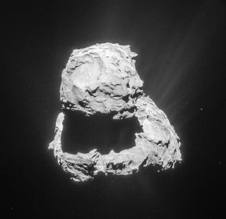 Comet 67P/Churyumov–Gerasimenko on March 18, 2015