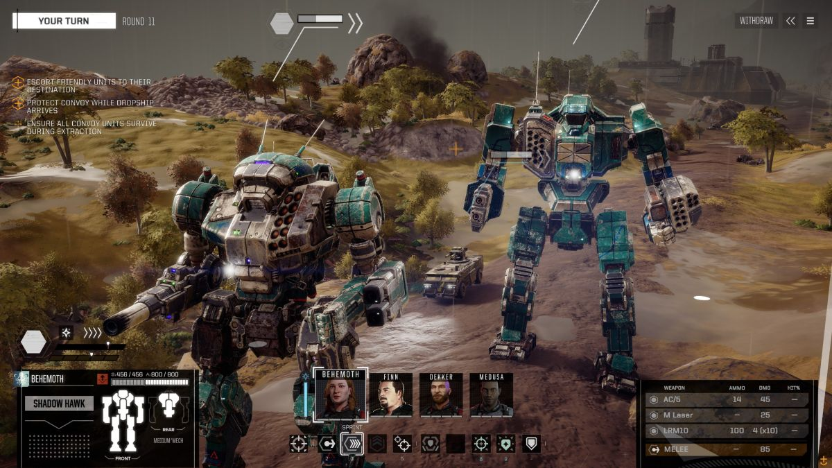 Big changes come to Battletech in the 1.10 update
