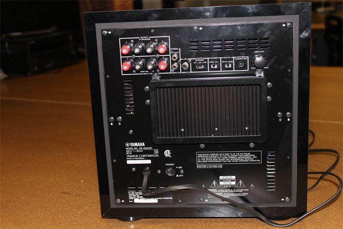 Yamaha NS-SW200BL Subwoofer Caisson de basse 1.0 Noir