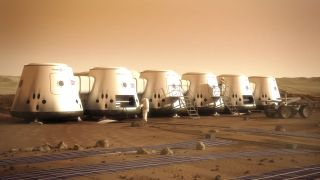 Mars One Colony and Astronauts